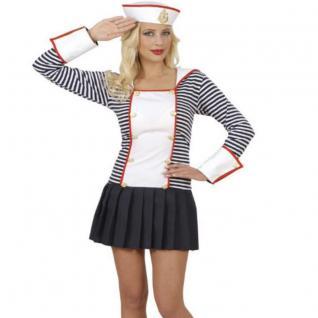 MATROSIN Gr. 42/44 L Matrosengirl Damen Kostüm Kleid Junggesellenabschied #7143