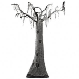 verhexter Halloween Deko BAUM ca: 280 cm - grusel horror Party Hänge Deko #4893