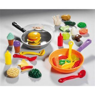 Küchen zubehör kinder  Pfanne Griff & Deckel Zubehör Kaufladen Zubehör Kinder Küche Happy ...
