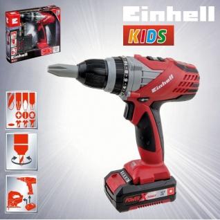 Kinder Werkzeug EINHELL KIDS Akku Bohrschrauber Bohrer Spielzeugbohrer