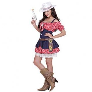 Cowgirl Selina Damen Kostüm Western Cowboy Kleid Auswahlgrößen S, M, L XL