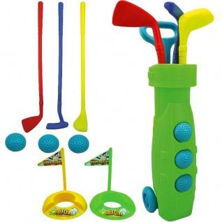 Best Sporting 13tlg. Golf Set Golfschläger Golfbälle Kinder Spielzeug Kunststoff