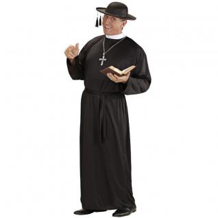 PREISHIT Pfarrer Priester Pater Herren Kostüm Gr. 48 (S) - Karneval #3901
