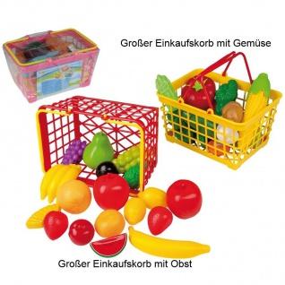 Großer Einkaufskorb gefüllt mit Obst oder Gemüse #45003