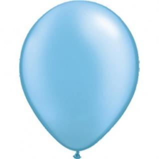 10 Stück hellblau Luftballons Hochzeit Geburtstag Deko Ballons Deko