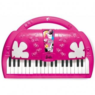 Keyboard Klavier im Barbie Design elektronisch mit Playback- u. Aufnahmefunktion