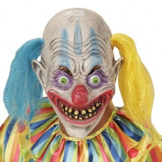 CLOWNMASKE Horror Clown Clownsmaske ES Psycho (00403)