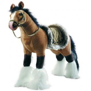 Happy People 58419 Pferd mit Sound, stehend, Kinder Spielzeug 100 kg tragkraft
