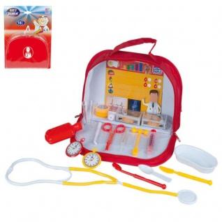 Kinder Doktor Koffer 18 tlg. Arztkoffer mit viel Zubehör Spielzeug 47409