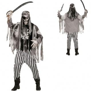 Zombie Pirat L (52) Halloween Kostüm Geisterschiff Piratenkostüm Geisterpirat
