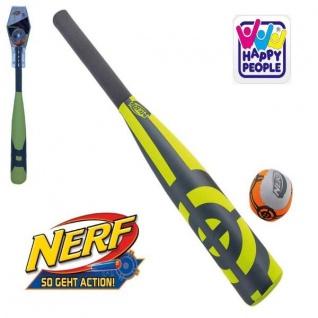 Happy People 16577 NERF Neopren BASEBALL-SET Wasserspielzeug Schläger + Ball