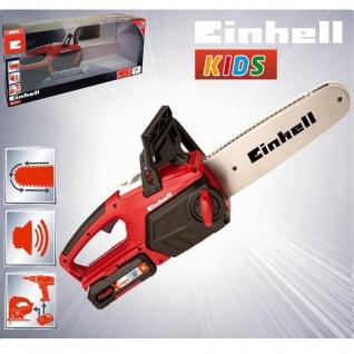 Kinder Werkzeug EINHELL KIDS Akku Kettensäge mit Sound Säge Spielzeugsäge
