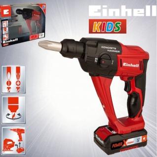 Kinder Werkzeug EINHELL KIDS Akku Bohrhammer Bohrmaschine Spielzeugbohrer