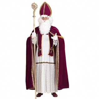 Weihnachtsmann Sankt Nikolaus ERZBISCHOF Bischof Kostüm Gr. L / XL - Weihnachten