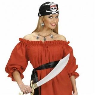 Bluse Piratenbluse Carmen ROT Piraten schulterfrei Piratenbraut Pirat Shirt