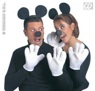 KOSTÜM SET MAUS ERWACHSENE zu Minnie Maus Hochzeit Karneval 5460