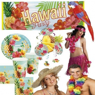 HAWAII PARTY Sommerfest - Alles für die Mottoparty - Sommer Strand Beach Party