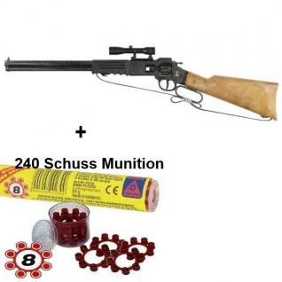 ARIZONA Western Gewehr mit 240 Schuss Munition Kinder Spielzeug Cowboy Indianer