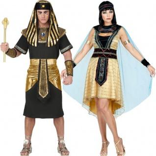 Cleopatra Königin vom Nil Pharao Römer König Damen & Herren Partner Kostüm