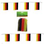 5m Fahnen Girlande 20 Flaggen Deutschland Fan Artikel Deko Party WM+EM #14710