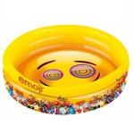 3-Ring Pool - emoji - Kinder Planschbecken ca. 140 x 26cm Happy people