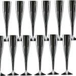 100 x Einweg - Sektgläser 0, 1l Sektflöten Plastik Sektglas
