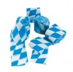 4 x 10 m Kreppband Oktoberfest Bayern Party blau-weiss 5 cm breit