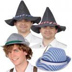Seppl Hut, Trachten Hut, Bayern Hut, Tiroler Hut, Zubehör Kostüm Oktoberfest