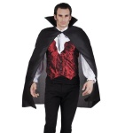 UMHANG mit Stehkragen schwarz Cape - Kostüm Karneval Venedig Vampir Dracula #922