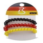 Armband Haarkabel Fußball Deutschland Fan Artikel Deko WM+EM Auswahl #80160