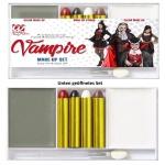 VAMPIR Make-Up Set - professionelle Theater Schminke Karneval Halloween #02410