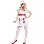 Blutige Krankenschwester 42/44 (L) Halloween Damen Kostüm Bloody Nurse