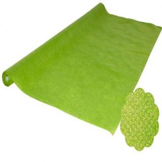 grün 5 m VLIES Tischdecke stoffähnlich Einweg Party Tischtuch reißfest