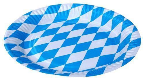 BAVARIA BAYERN Oktoberfest Motto Geburtstag Party DEKO blau weiss - Vorschau 2