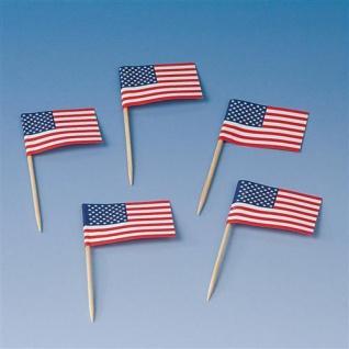 USA Amerika - Stars & Stripes - PARTY DEKO Teller Becher Servietten Ballons - Vorschau 2