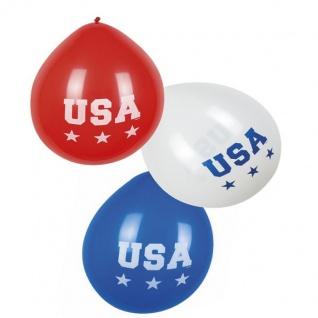USA Mottoparty Stars Stripes USA AMERIKA Mottoparty US Party Deko -Teller Becher - Vorschau 2