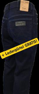 Wrangler TEXAS blue/black + Ledergürtel GRATIS