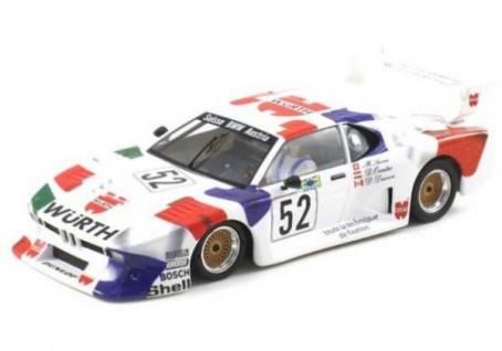 Scaleauto BMW M1 Gr 5 24h Le Mans 1981 6027R