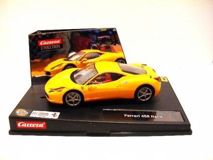 Carrera Evolution Ferrari 458 Italia Slotcar Art 27343
