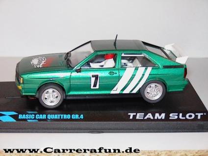 Audi Quattro Slotcar 1:32 von TEAM SLOT