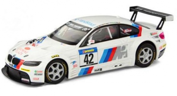 BMW M3 GT2 Crowne Plaza Slotcars 1:32 von SCX A10156