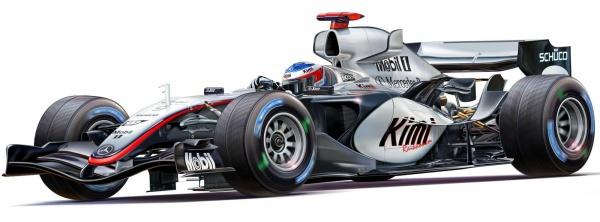 Revell Modellbausatz 07097 Team McLaren Mercedes MP4-20 im Maßstab 1:24