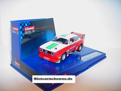 Carrera Digital 132 Alfa Romeo GTA Silhouette Slotcar 1:32 30647 - Vorschau 2