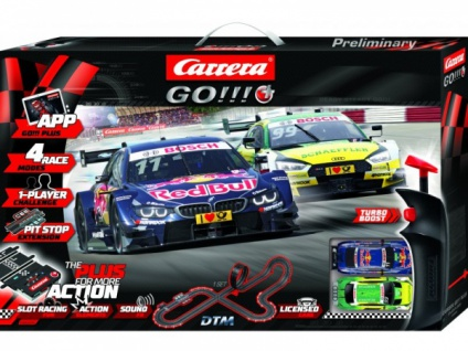 Carrera GO!!!+ Plus DTM Splash ´n dash Set 66005