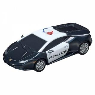 Carrera GO Lamborghini Huracan LP 610-4 Police mit Blaulicht 1:43 Slotcar 64098