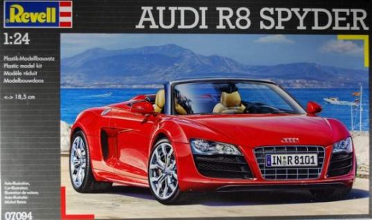 Revell Modellbausatz 07094 Audi R8 SPYDER im Maßstab 1:24