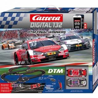 Carrera Digital 132 DTM Final Winners WIRELESS AppConnect 30009