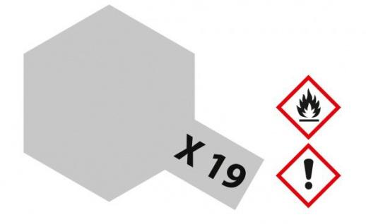 Tamiya, Acrylfarbe X-19 Rauch glänzend, 23ml Tamiya 81019