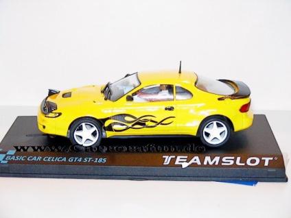 Toyota Celica GT4 ST-185 FLAME Slotcar 1:32 von TEAMSLOT Basic Car