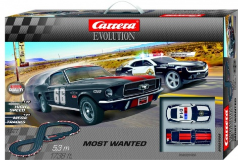 Carrera Evolution Most Wanted 5, 3m 25228
